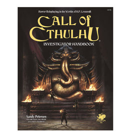 Chaosium Call of Cthulhu RPG: Investigator Handbook