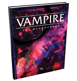 Modiphius Vampire The Masquerade RPG Core Rulebook (5th Ed.)