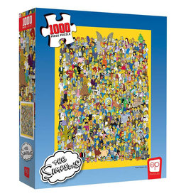 USAopoly Simpsons Cast of Thousands 1000 PCS Puzzle
