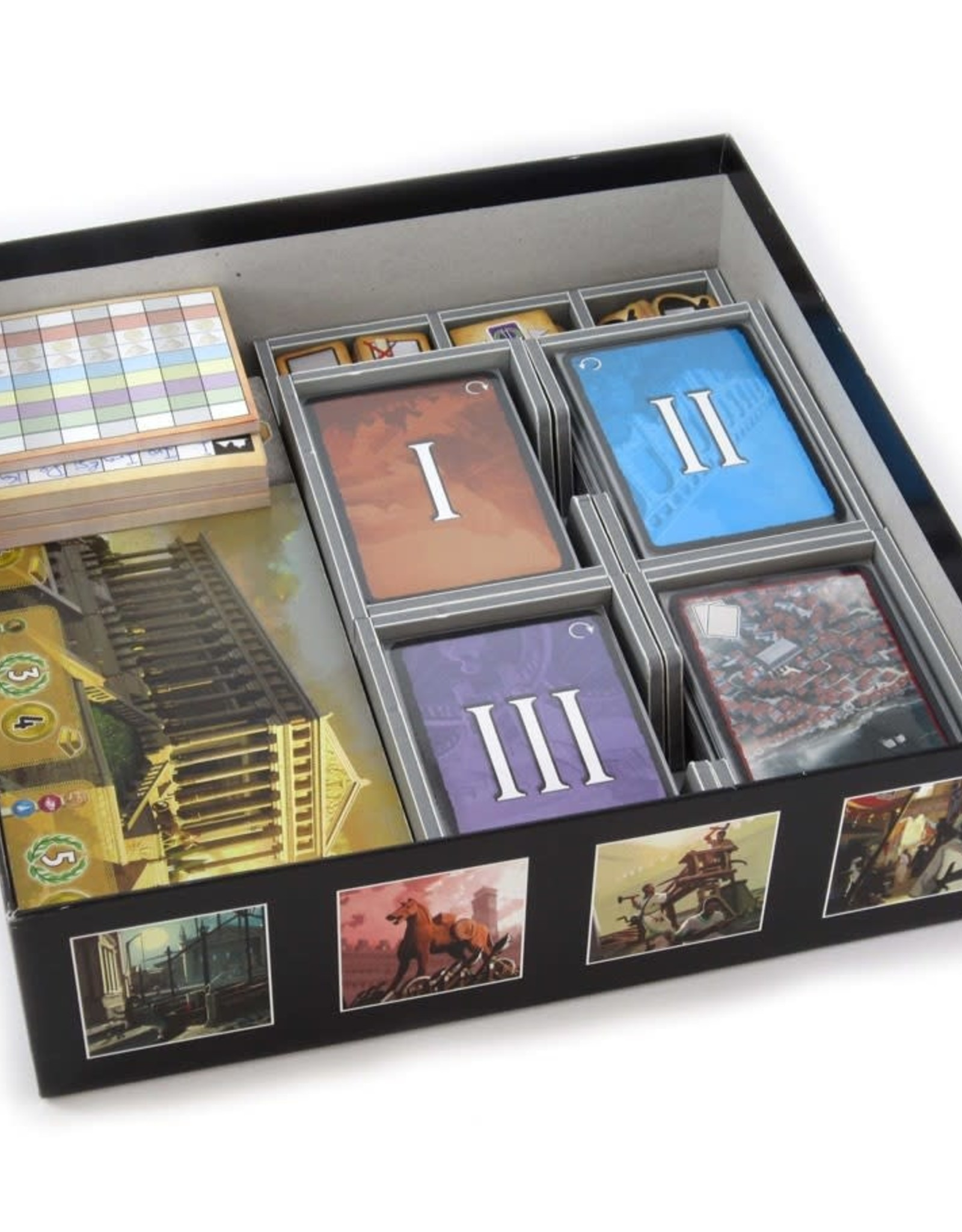 Folded Space Box Insert: 7 Wonders and Expansions