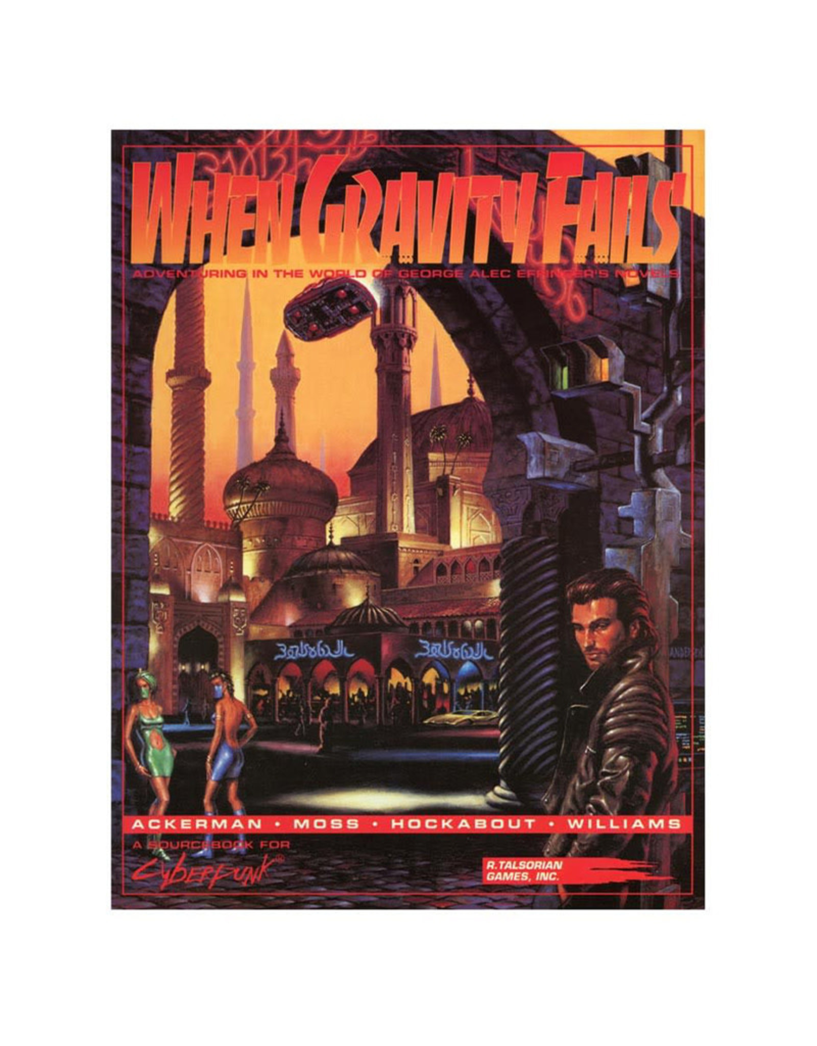 R. Talsorian Games Cyberpunk 2020 RPG: When Gravity Fails