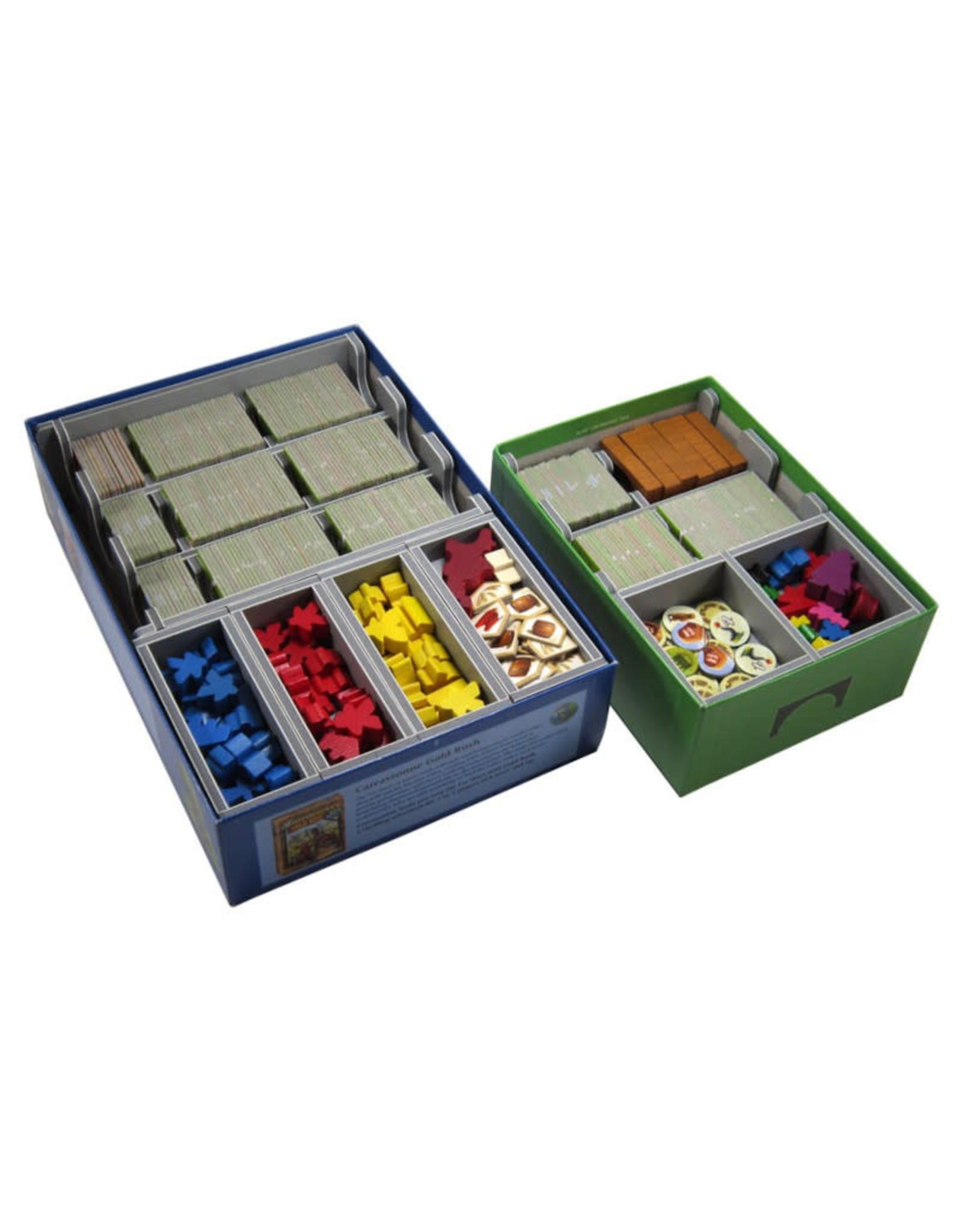 Folded Space Box Insert: Carcassonne