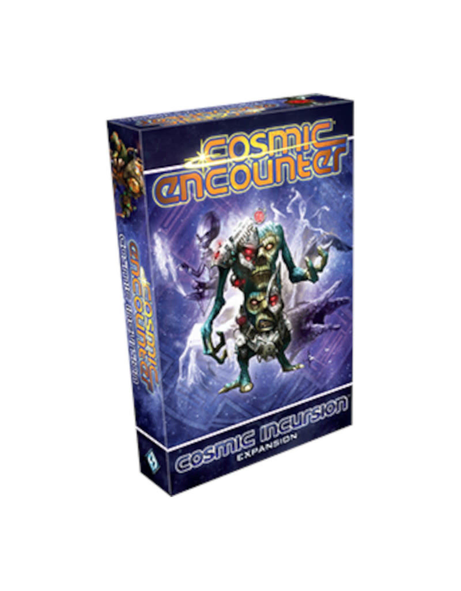 Fantasy Flight Games Cosmic Encounter Incursion Expansion