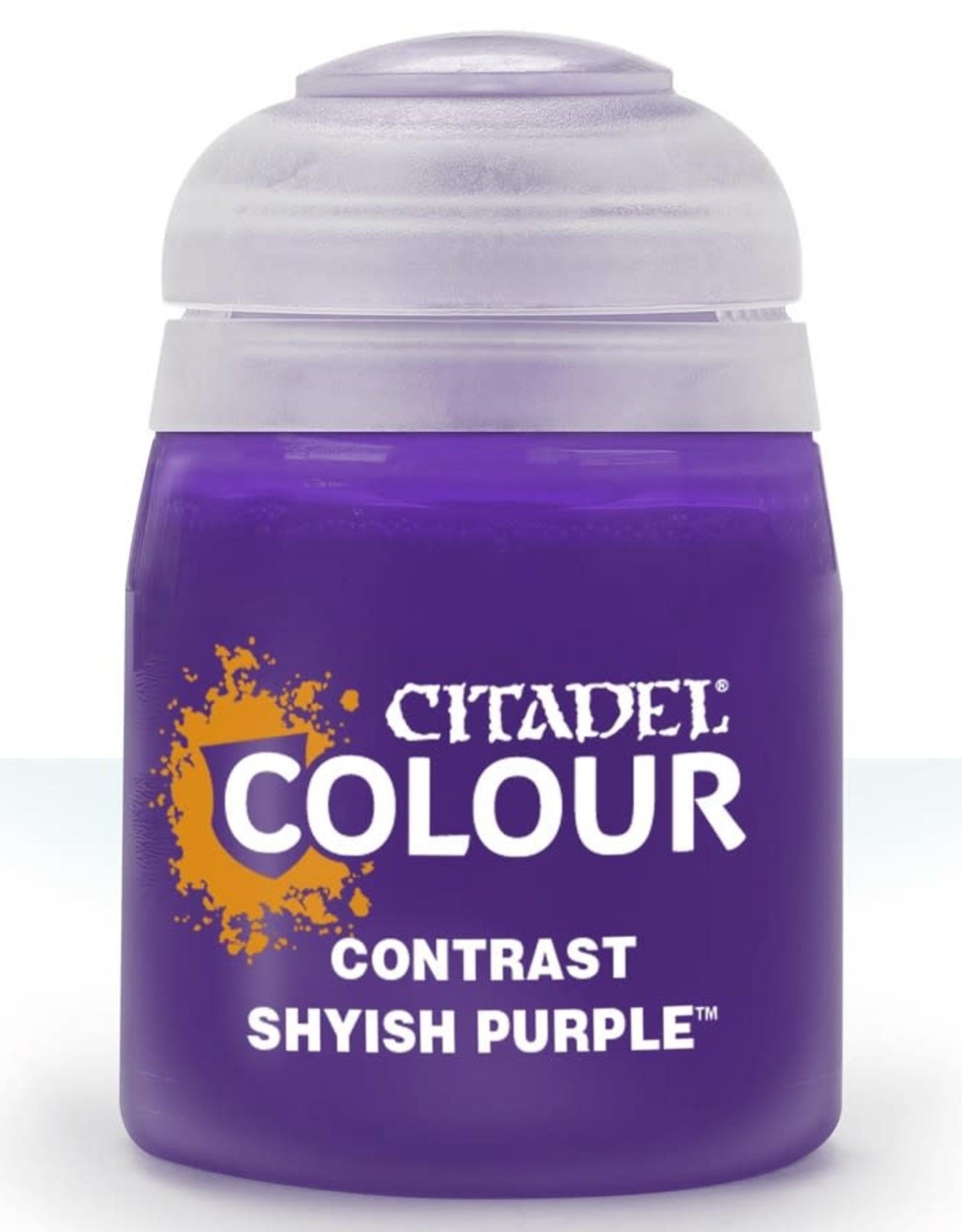 Citadel Contrast Paint: Shyish Purple