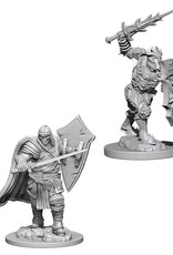 Wizkids D&D Unpainted Minis: Death Knight and Helmed Horror