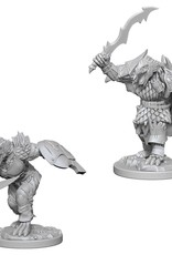 Wizkids D&D Unpainted Minis: Dragonborn Fighter Male