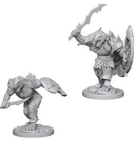 Wizkids D&D Unpainted Minis: Dragonborn Fighter Male