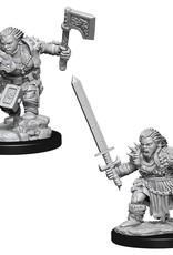 Wizkids D&D Nolzur's Unpainted Miniatures: Dwarf Barbarian Female