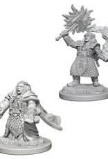 Wizkids D&D Unpainted Minis: Dwarf Cleric Female