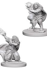 Wizkids D&D Nolzur's Unpainted Miniatures: Dwarf Wizard Female