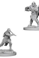 Wizkids D&D Unpainted Minis: Elf Fighter Male