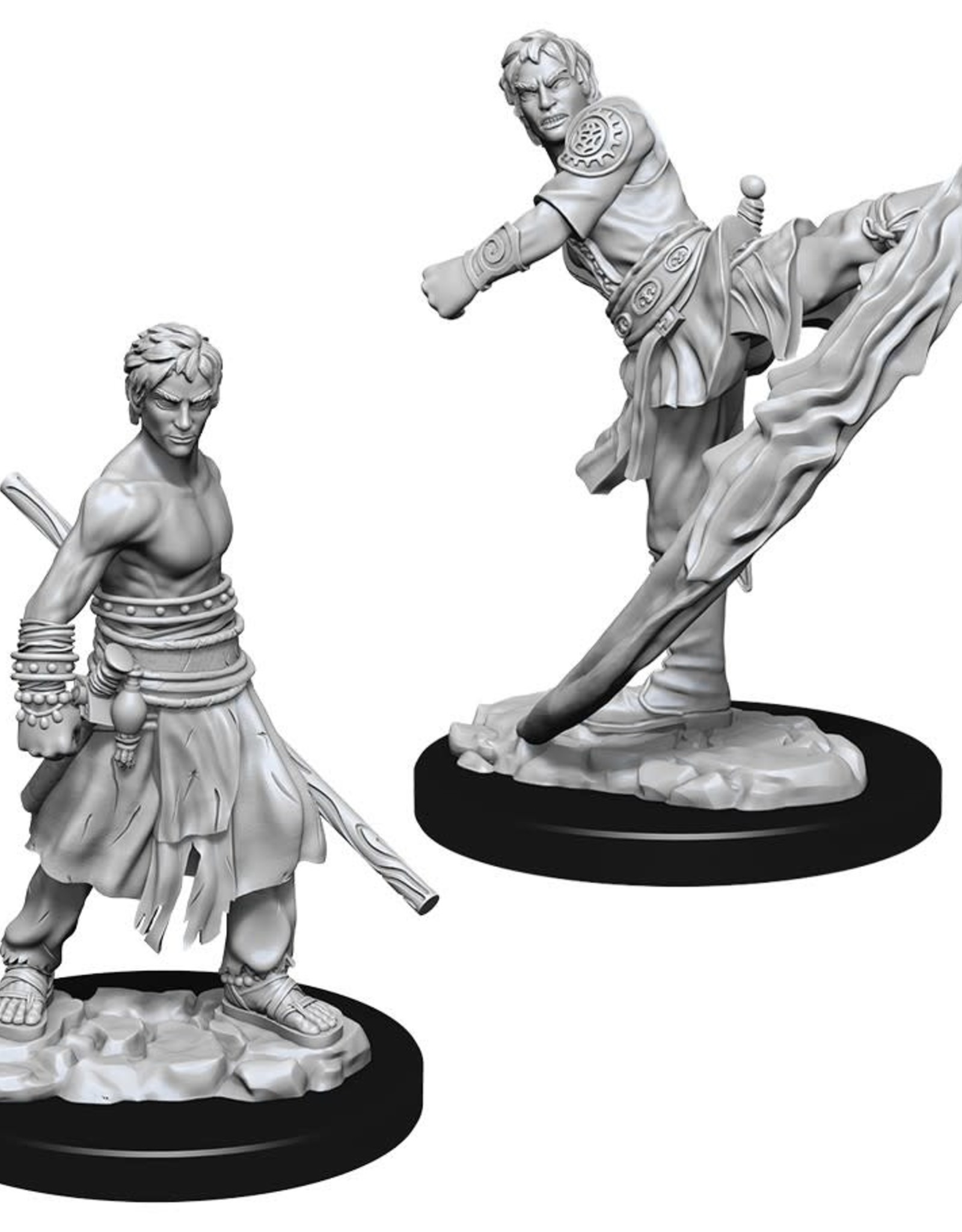Wizkids D&D Nolzur's Unpainted Miniatures: Elf Monk Male