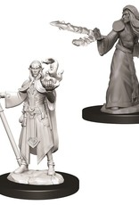 Wizkids D&D Unpainted Minis: Elf Wizard Male