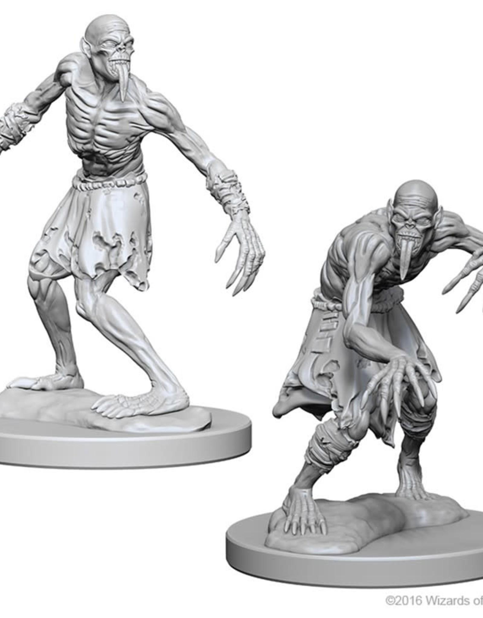 Wizkids D&D Nolzur's Unpainted Miniatures: Ghouls