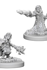 Wizkids D&D Unpainted Minis: Gnome Wizard Female