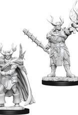Wizkids D&D Unpainted Minis: Half-Orc Druid Male