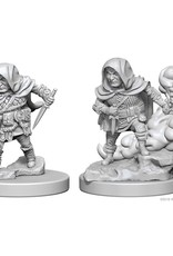 Wizkids D&D Nolzur's Unpainted Miniatures: Halfling Rogue Male