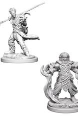 Wizkids D&D Nolzur's Unpainted Miniatures: Human Druid Male