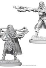 Wizkids D&D Unpainted Minis: Human Sorcerer Male