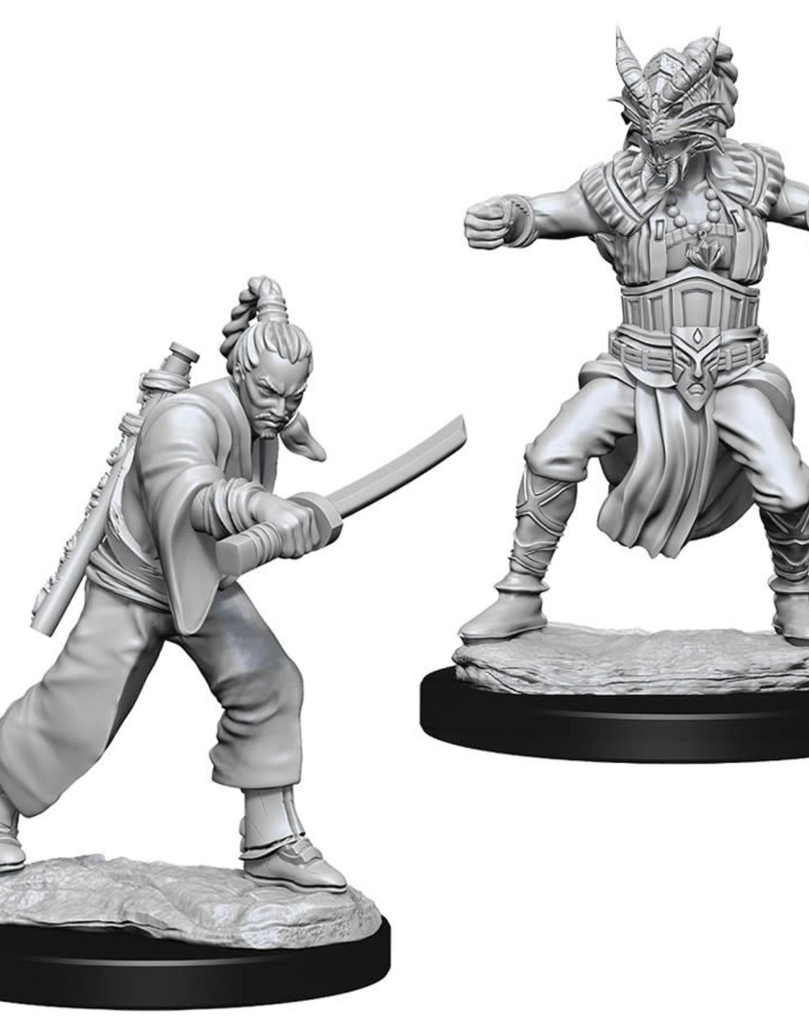 Wizkids D&D Unpainted Minis: Human Monk Male