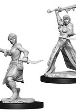 Wizkids D&D Nolzur's Unpainted Miniatures: Human Rogue Female