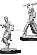 Wizkids D&D Unpainted Minis: Human Rogue Female