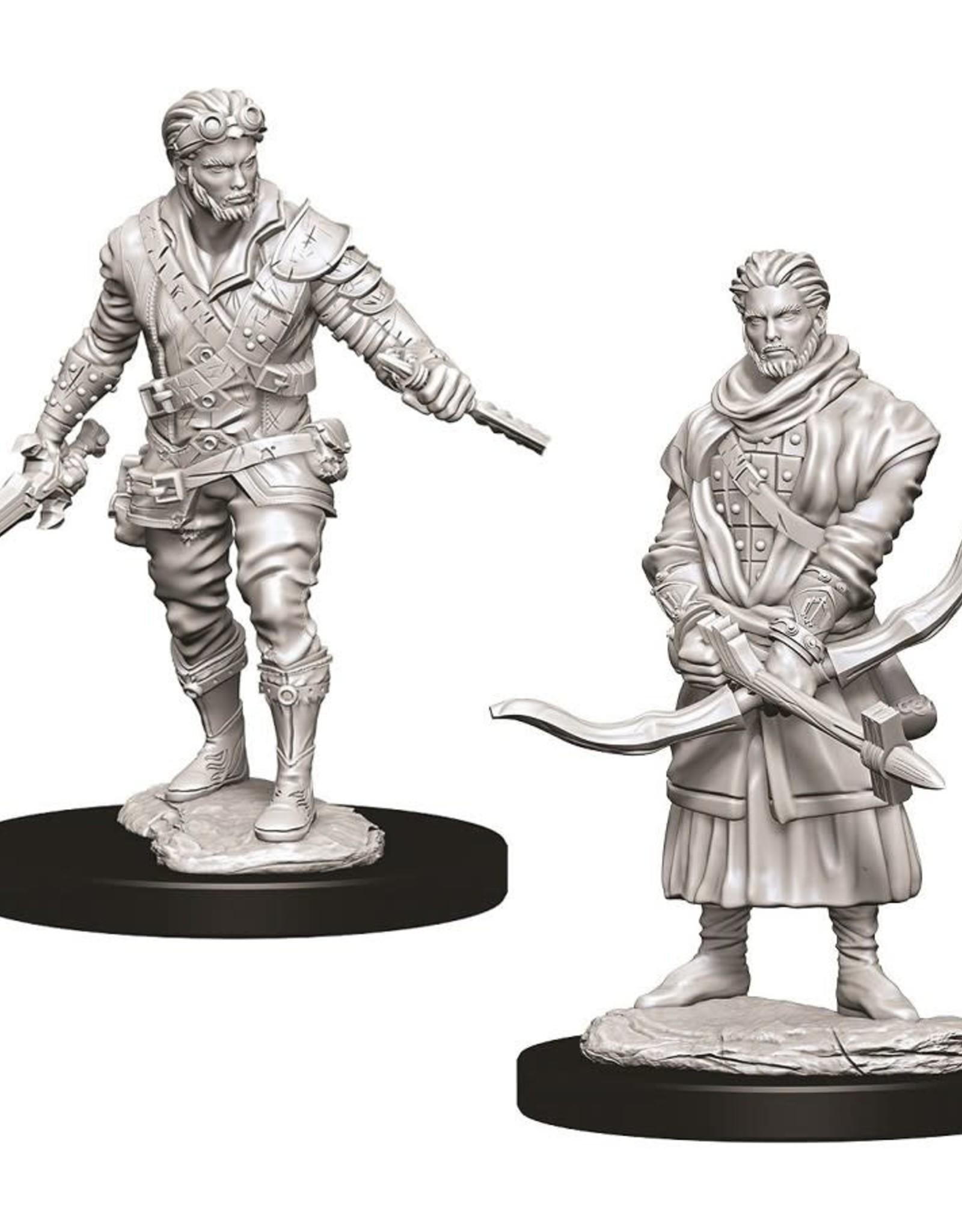 Wizkids D&D Nolzur's Unpainted Miniatures: Human Rogue Male