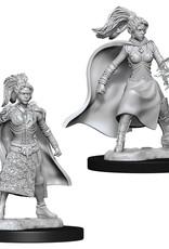 Wizkids D&D Nolzur's Unpainted Miniatures: Human Sorcerer Female