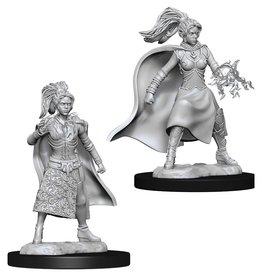 Wizkids D&D Unpainted Minis: Human Sorcerer Female
