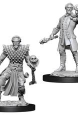 Wizkids D&D Nolzur's Unpainted Miniatures: Human Warlock Male