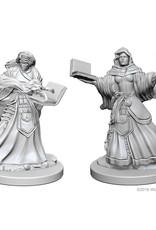 Wizkids D&D Nolzur's Unpainted Miniatures: Human Wizard Female