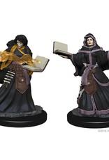 Wizkids D&D Unpainted Minis: Human Wizard Female