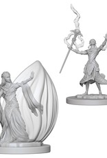 Wizkids D&D Nolzur's Unpainted Miniatures: Elf Wizard Female