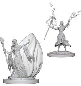 Wizkids D&D Nolzur's Unpainted Miniatures: Elf Wizard Female