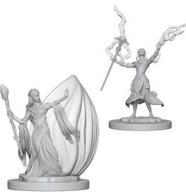 Wizkids D&D Unpainted Minis: Elf Wizard Female