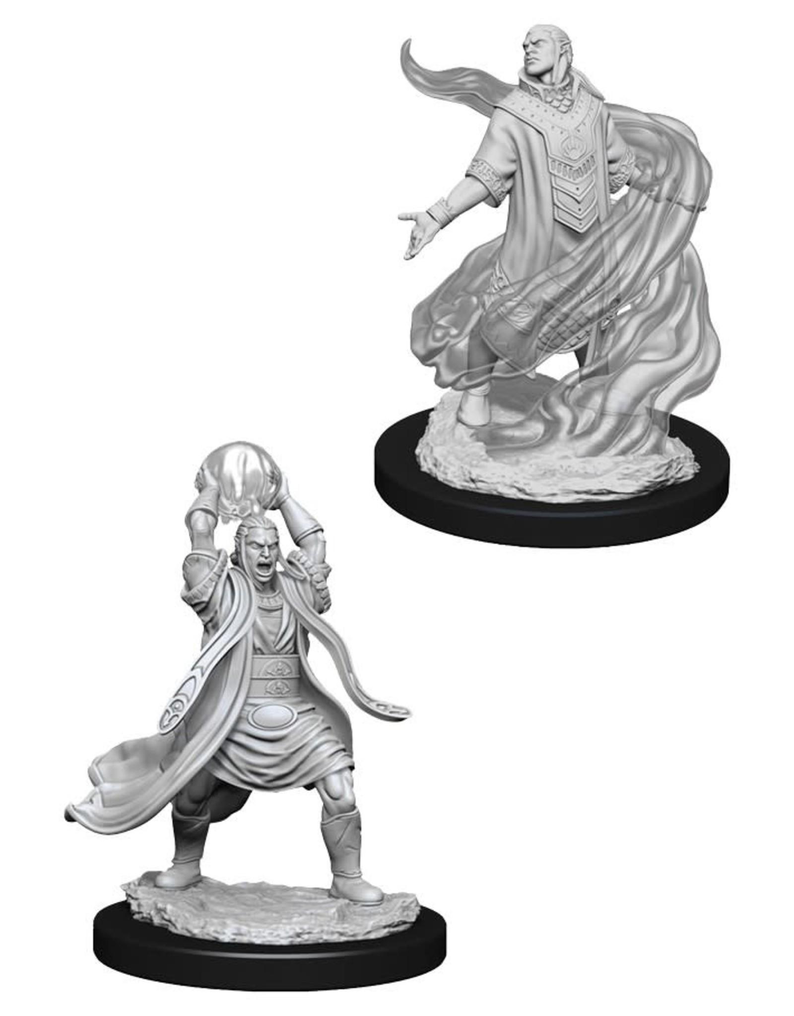 Wizkids D&D Nolzur's Unpainted Miniatures: Elf Sorcerer Male