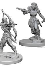 Wizkids D&D Unpainted Minis: Elf Ranger Female