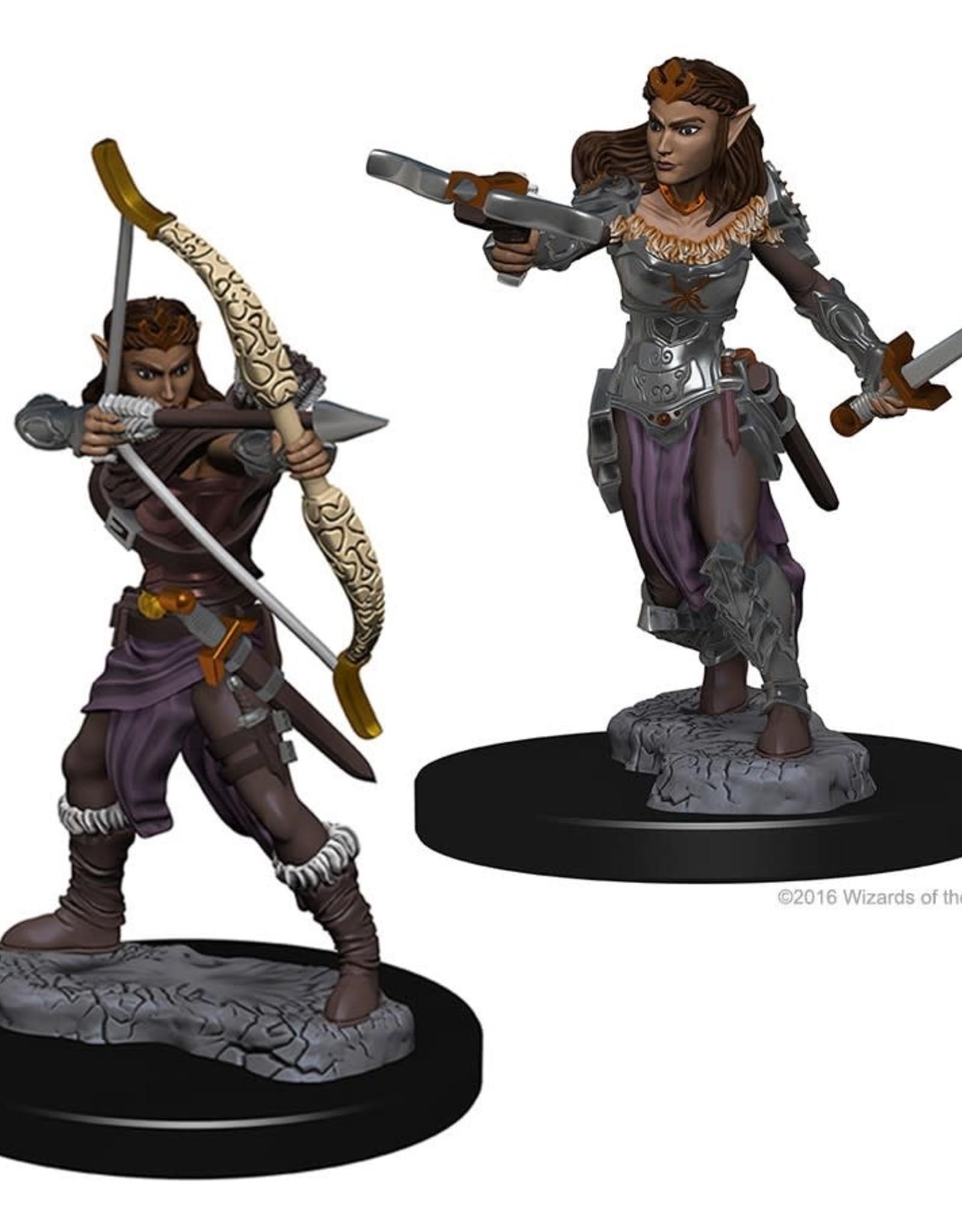 Wizkids D&D Nolzur's Unpainted Miniatures: Elf Ranger Female