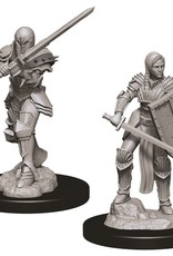 Wizkids D&D Nolzur's Unpainted Miniatures: Human Fighter Female