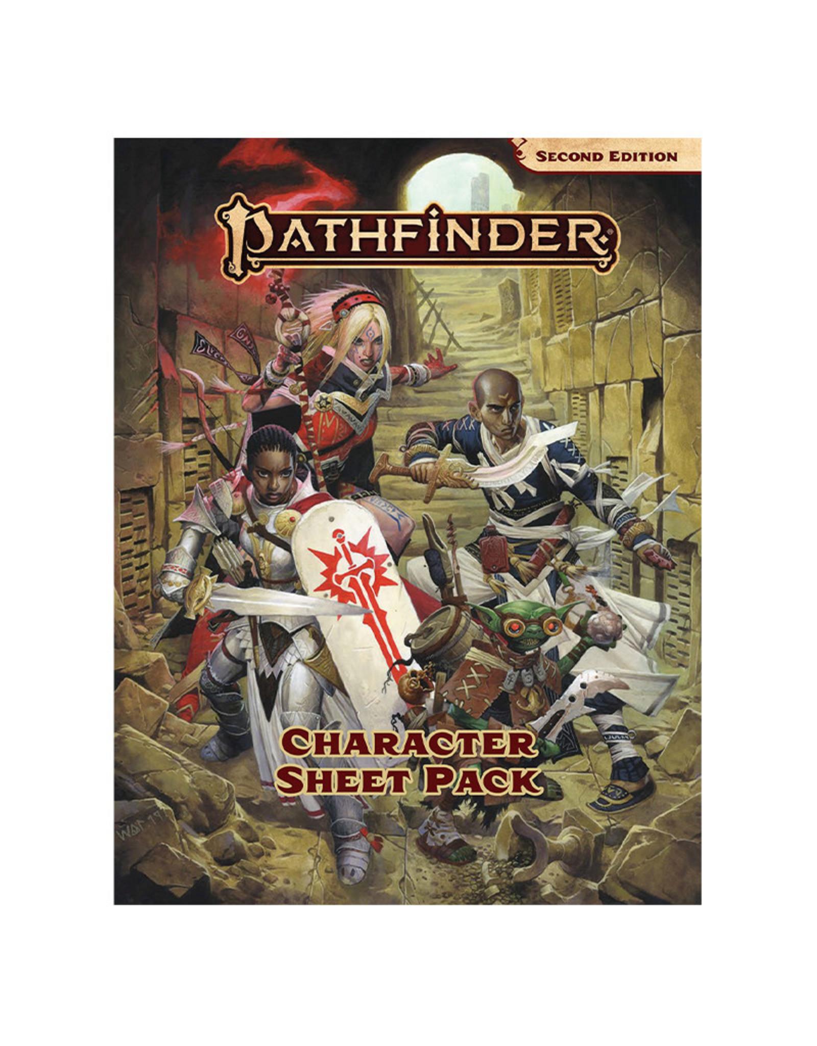 Paizo Pathfinder RPG: Character Sheet