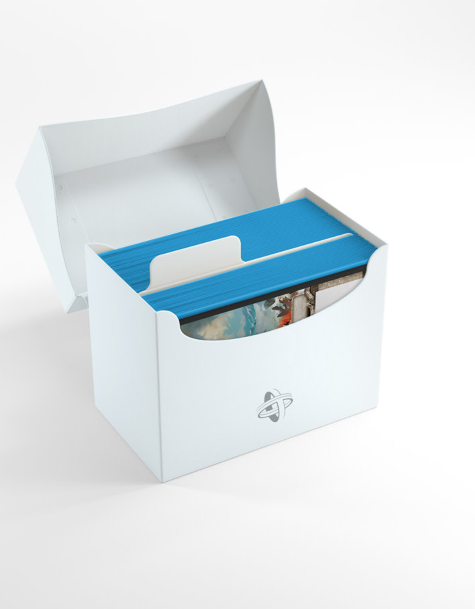 Deck Box: Side Holder 80+ White