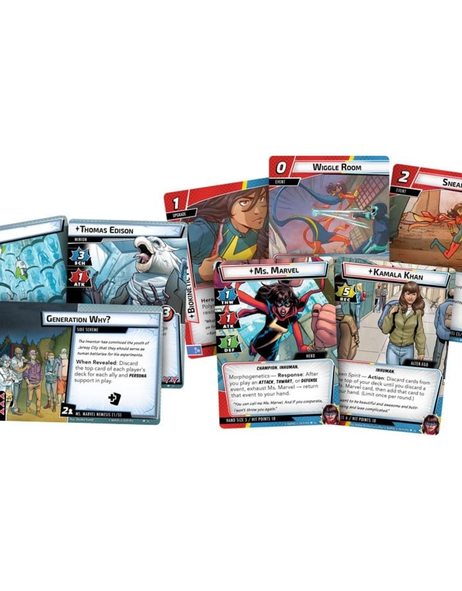 Fantasy Flight Games Marvel Champions LCG Ms Marvel
