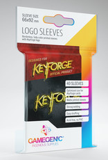 Keyforge Logo Sleeves: Black (40)