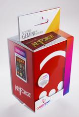 Deck Box: Keyforge Gemini Red