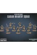 Games Workshop Warhammer 40K Astra Militarum Cadian Infantry Squad