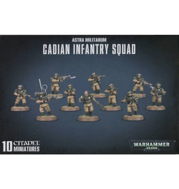 Games Workshop Warhammer 40K: Astra Militarum Cadian Infantry (shock troops)