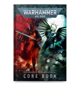 Games Workshop Warhammer 40K 9th Edition Core Rulebook