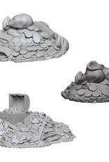 Wizkids Deep Cuts Unpainted Minis: Treasure Piles