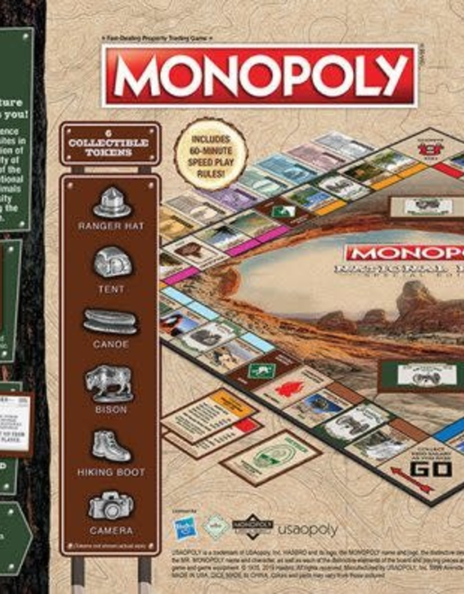 USAopoly Monopoly National Parks