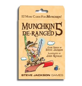Steve Jackson Games Munchkin 5 De-Ranged Expansion